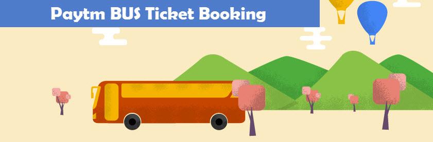 Paytm BUS Ticket Booking
