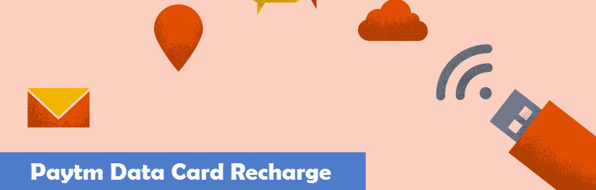 Paytm Data Card Recharge