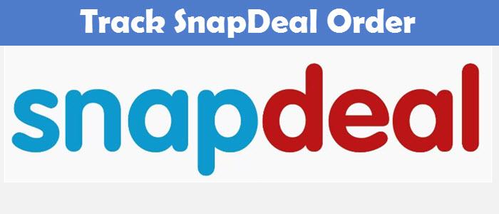 Track SnapDeal Order online