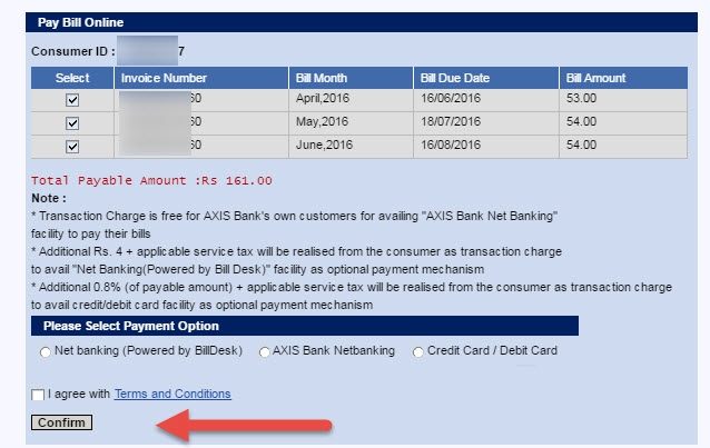 West Bengal Electricity Bill Payment step 2