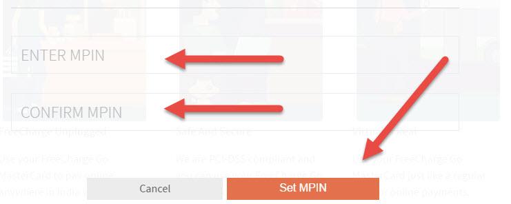 enter mpin