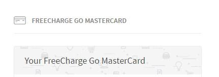 freecharge mastercard