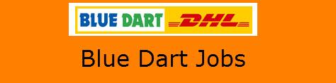 Blue Dart Jobs